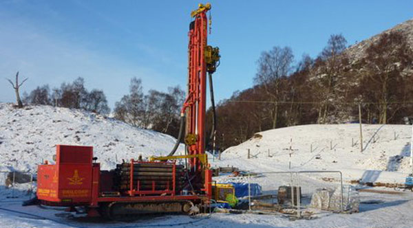environmental exploration drilling case study