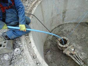 Decommissioning, Grouting, borehole