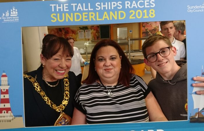 Mayor Sunderland, Tall Ships, Sail Trainee